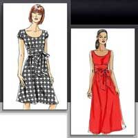 Misses Dress Vogue Sewing Pattern No 8469. Size 6-12