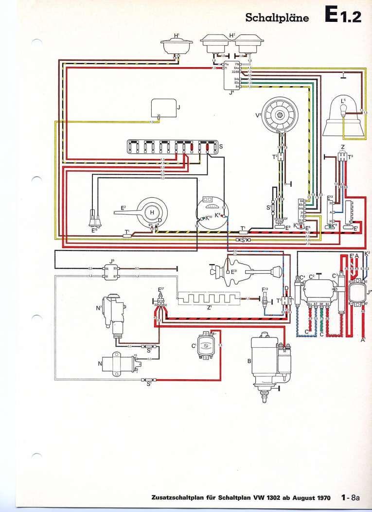 10  73 Super Beetle Engine Voltage Regulator Wiring
