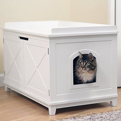 Smart Design Cat Washroom Box Extra Large Litter Boxes To View Further For This Item Visit The Image Link Litter Box Enclosure Litter Box Furniture Cat Box