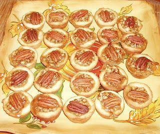 Butter Pecan Tartlets