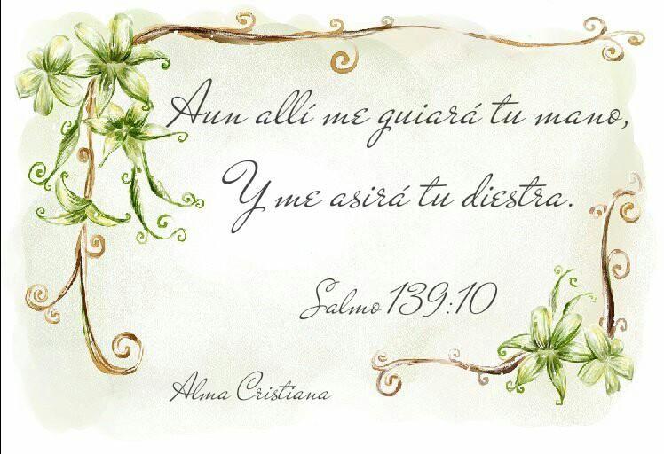 Nuestra vida está en las manos de Dios, no hay nada que él no sepa de nuestra vida y aún de nuestra muerte. Él es nuestra esperanza de vida eterna. Señor gracias por la esperanza de vida eterna que nos das a través de Cristo Jesús, amén.