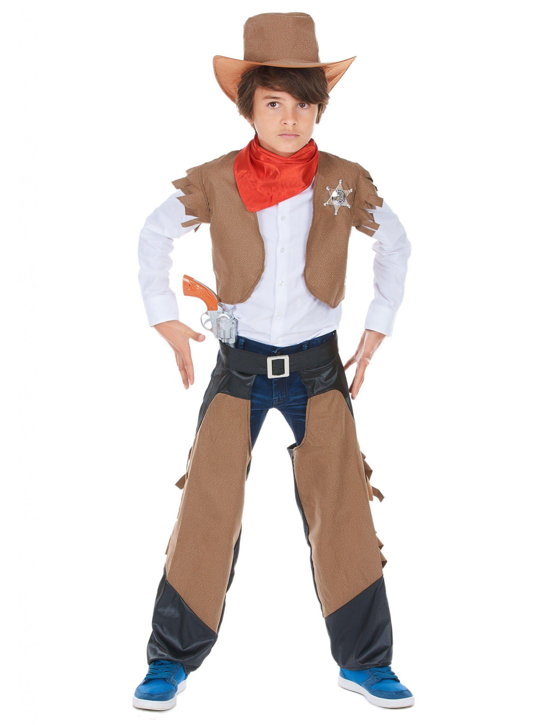 Disfraz de vaquero para niño  este disfraz de vaquero para niño está  compuesto de un 3fc89239753