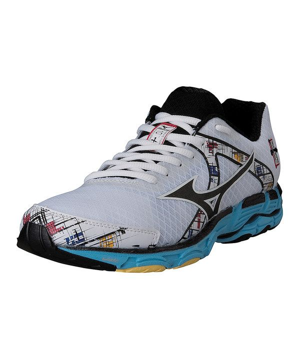 Look at this Mizuno White | Stability running shoes, Running