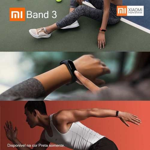 Xiaomi Mi Band 3 Smartwatch  xiaomi  smartwatch  smartband  huawei   mercadolivre   75338323ade76