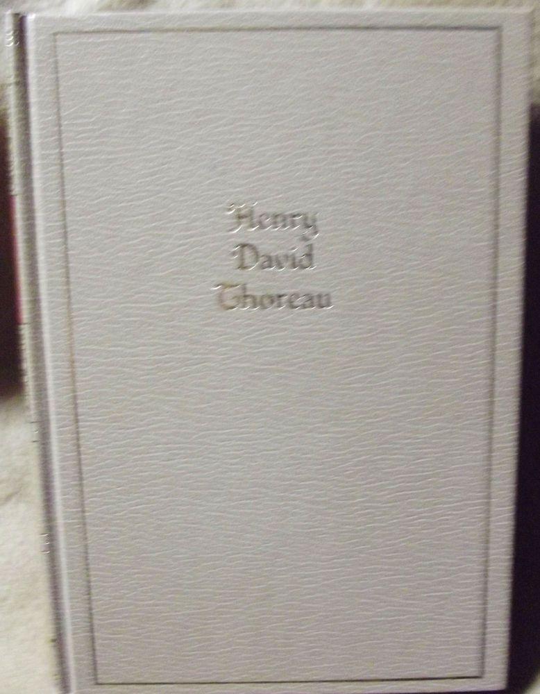 The Works of Henry David #Thoreau Hardcover #Book #Vintage Black's Reader Service