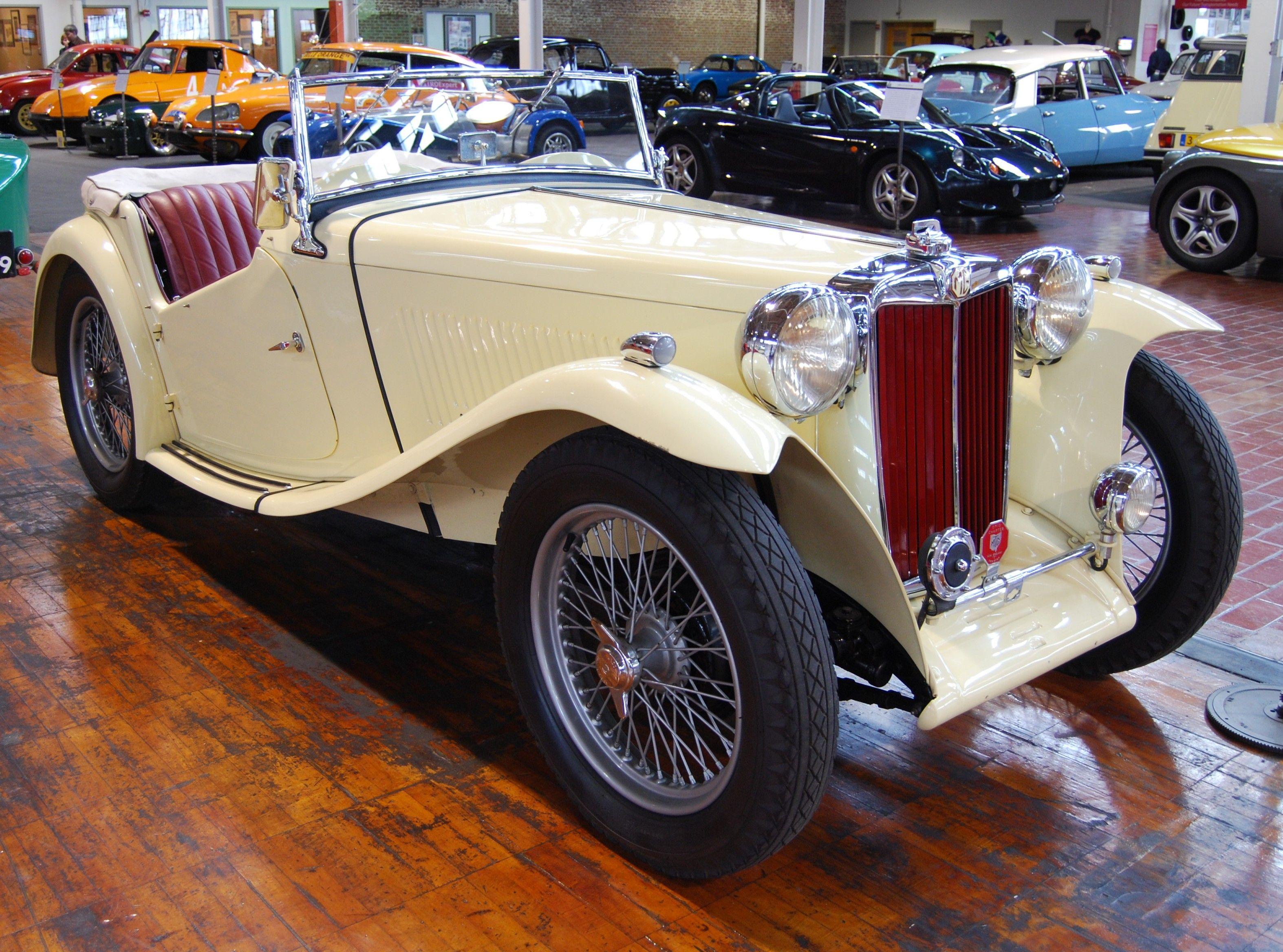 1949 MG - TC Midget Roadster Maintenance/restoration of old ...