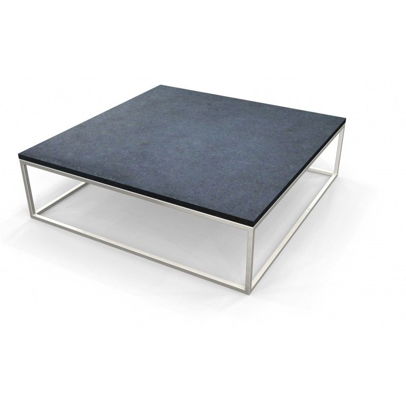 simple table basse 120x120 inox salon pinterest salons. Black Bedroom Furniture Sets. Home Design Ideas