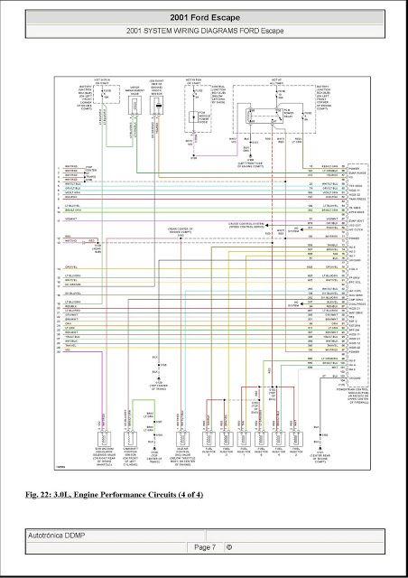 Diagramas El U00e9ctricos Ecu Escape 2001