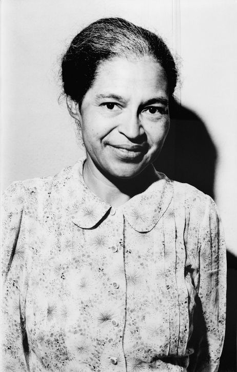 Rosa Parks, Activist (1913-2005)  She began the  activist movement of the CIVIL RIGHTS in the USA