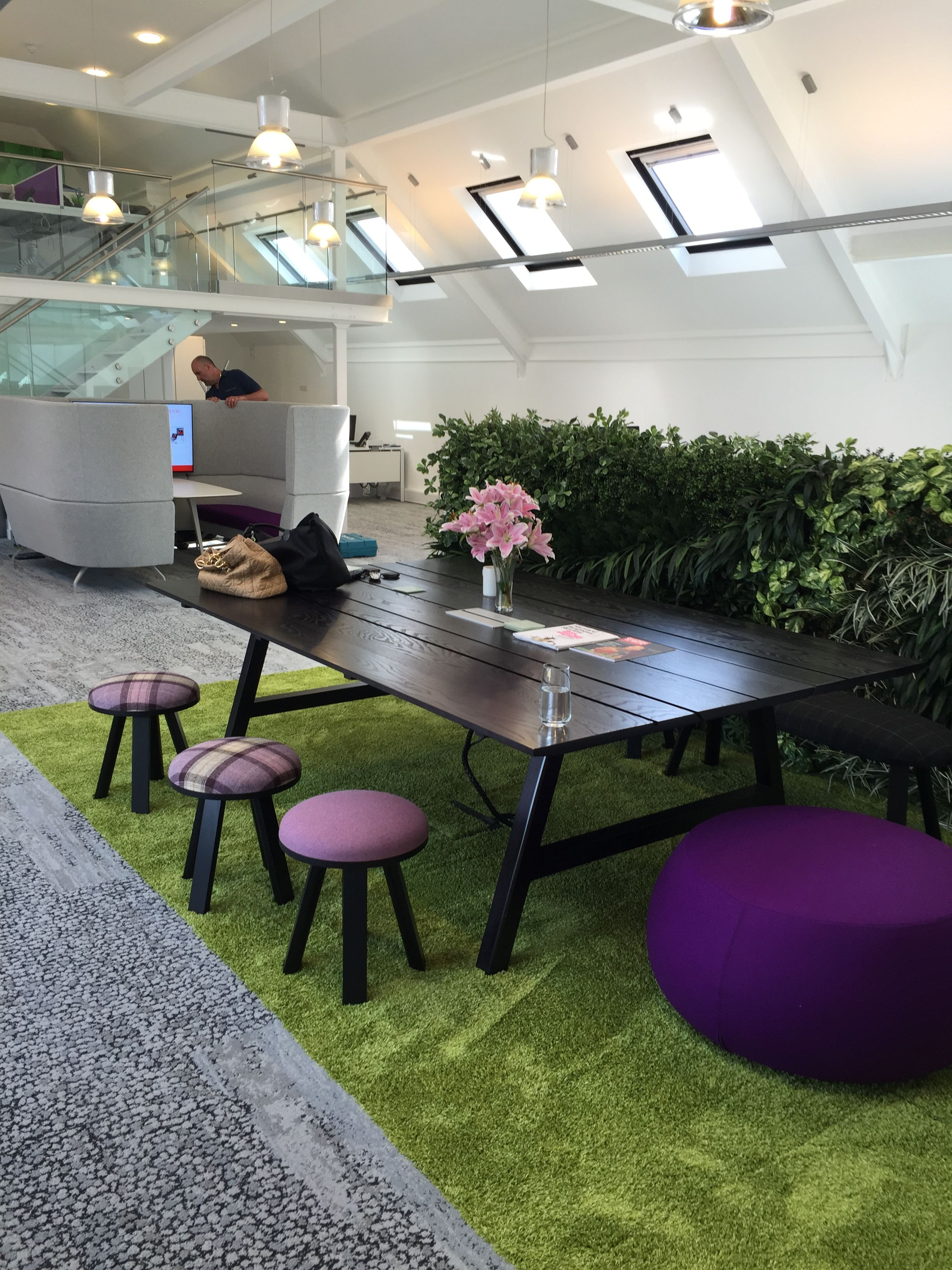 Livewall green wall system make conferences more comfortable - Find This Pin And More On Our Work By Wpclondon