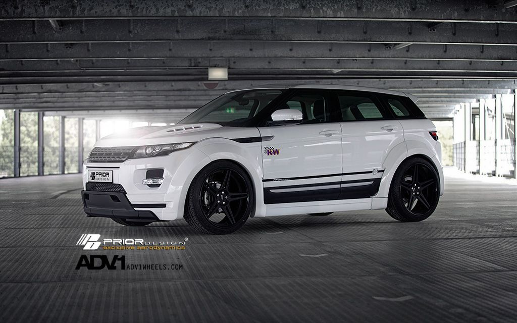 PD650 Widebody Aerodynamic-Kit for RANGE ROVER EVOQUE 5D - PRIOR-DESIGN Exclusive Tuning, Aerodynamics, Wheels and Performance Parts