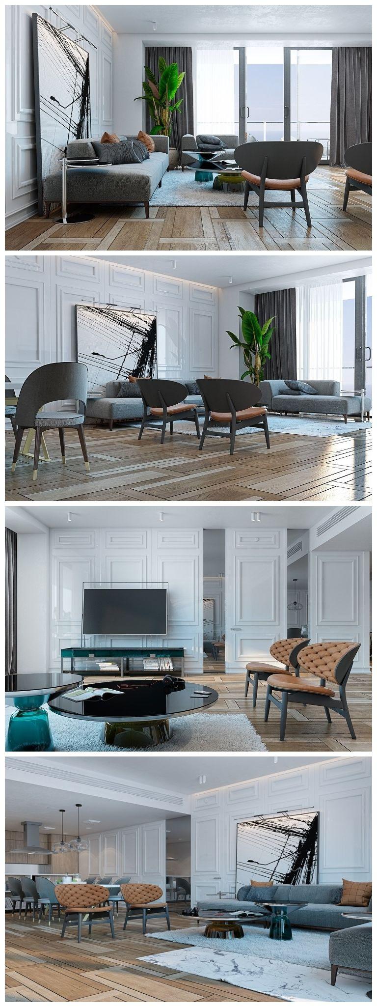 A Miami Apartment in Stormy, Muted Tones | Pinterest | Dezeen, Miami ...