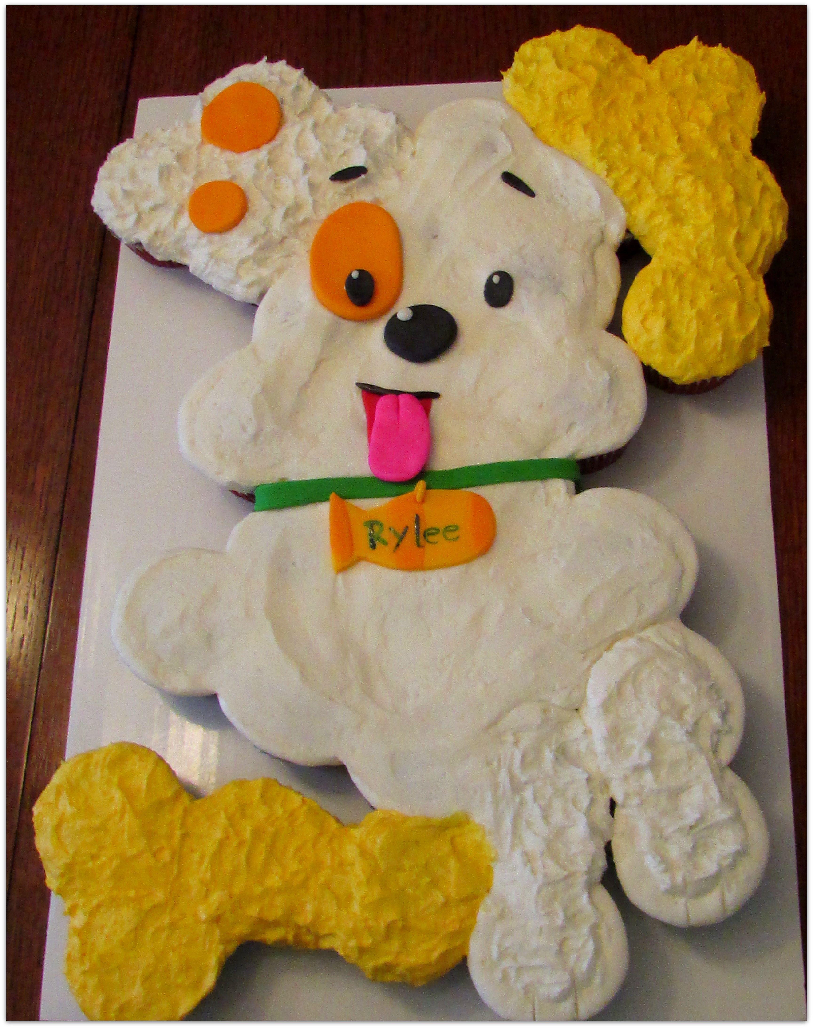 Bubble Guppies Cupcake Cake