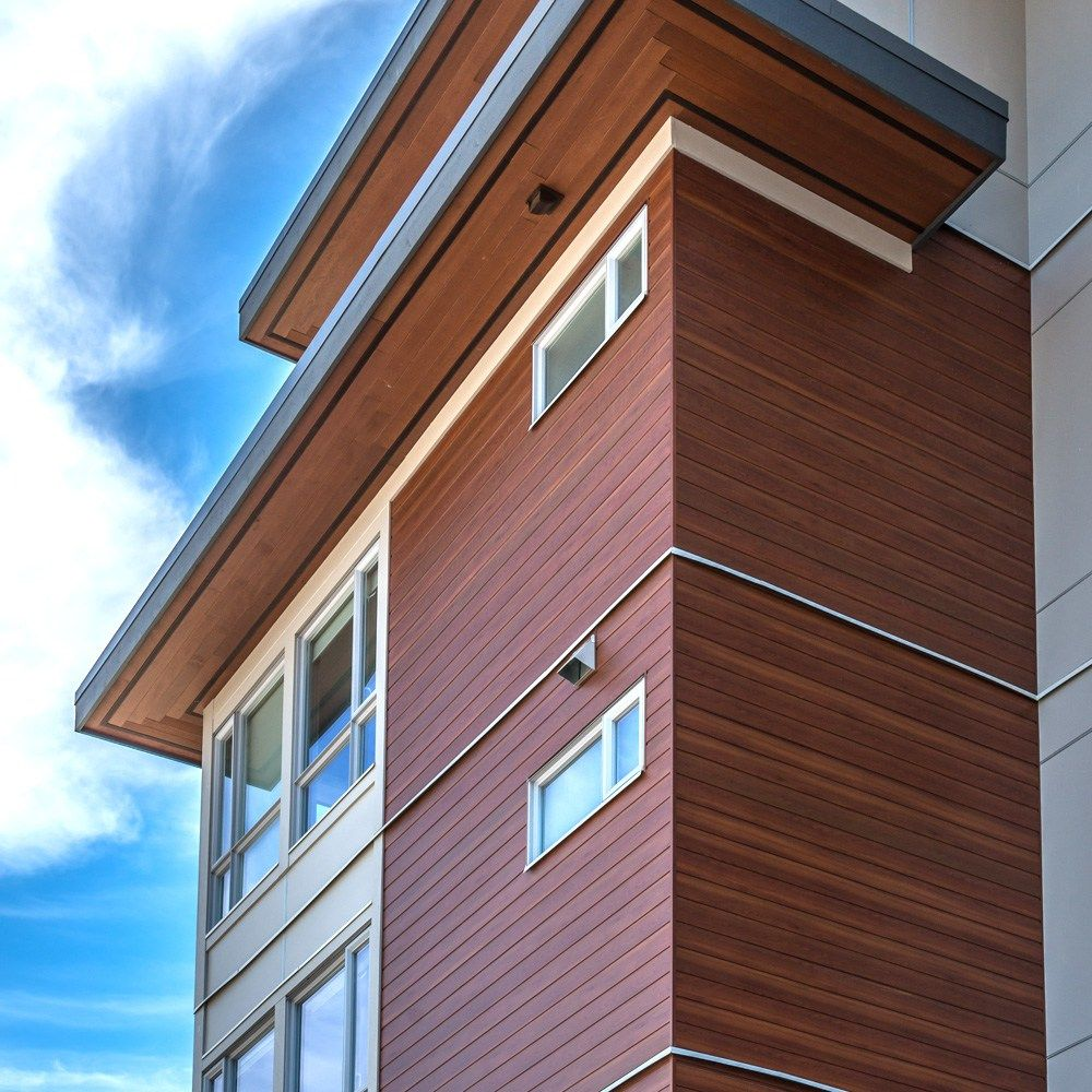 Ottawa Painting Soffits Fascia Aluminum Wood Exterior House: Sagiper Exterior Soffit In Espresso Redwood Available