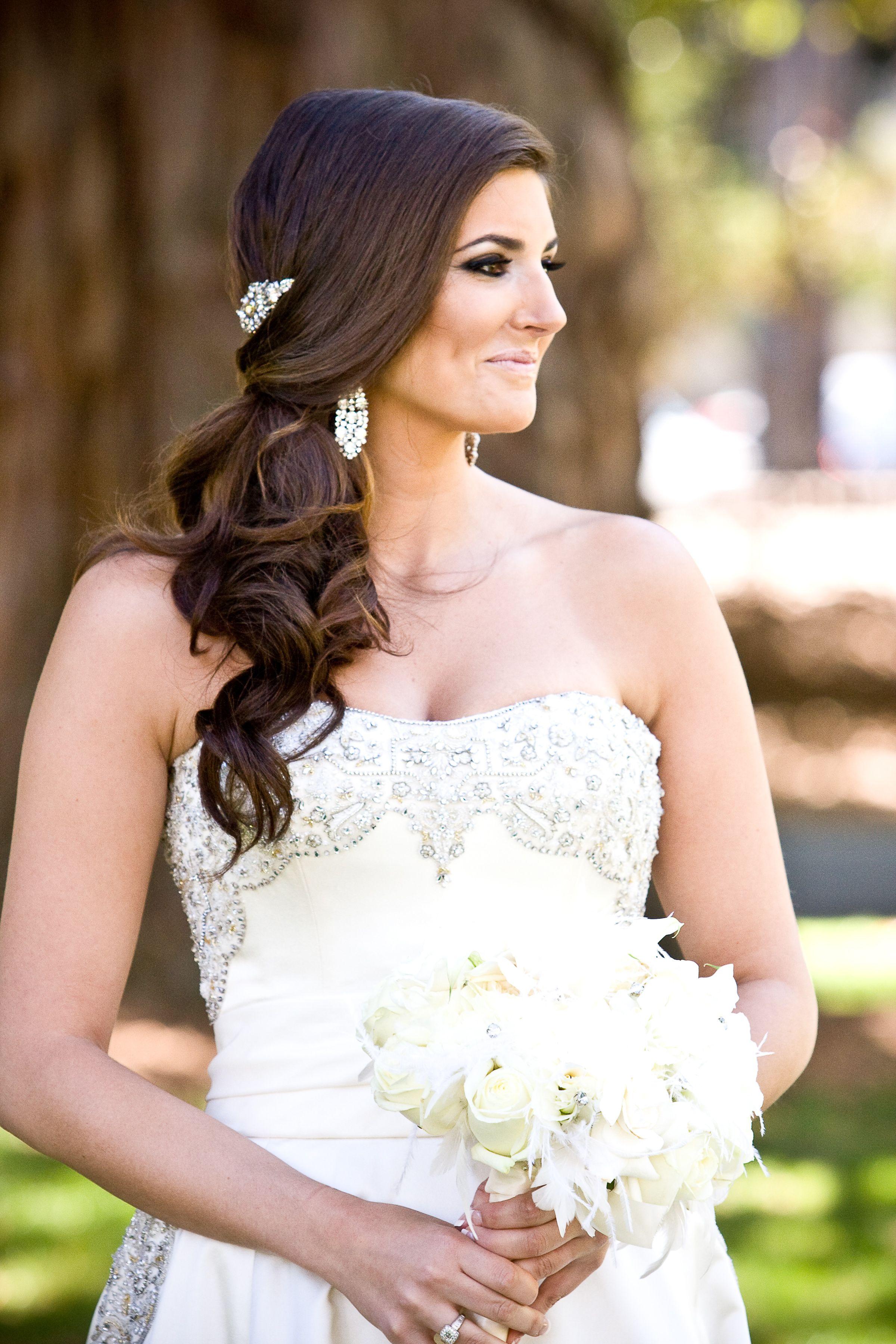 priscilla of boston real weddings 1 | wedding hair styles i love