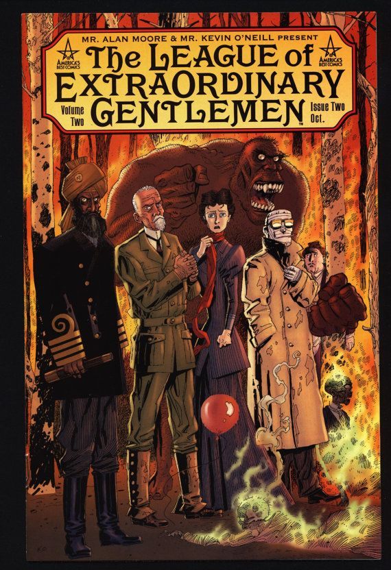 League Of Extraordinary Gentlemen 2 Vol By Qualitycomicsamerica