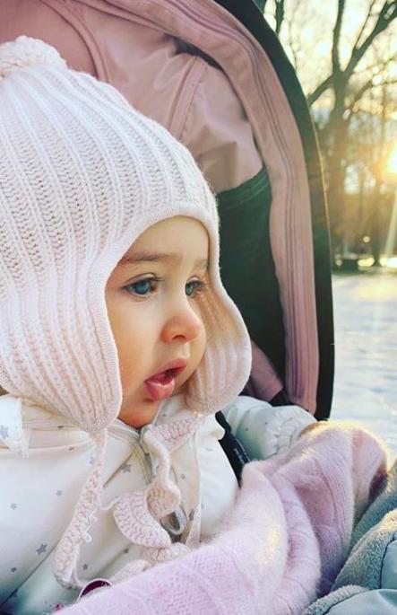 Princesse Adrienne 31 Decembre 2018 Photo Publiee Par La Princesse Madeleine Pour La Nouvelle Annee