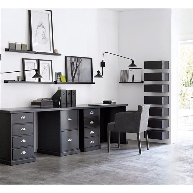 pi tement pin tanguy am pm entr e pinterest bureau cadres noirs et coin bureau. Black Bedroom Furniture Sets. Home Design Ideas