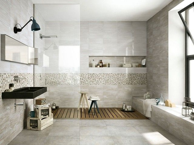 Rivestimento bagno effetto marmo tivoli iperceramica home