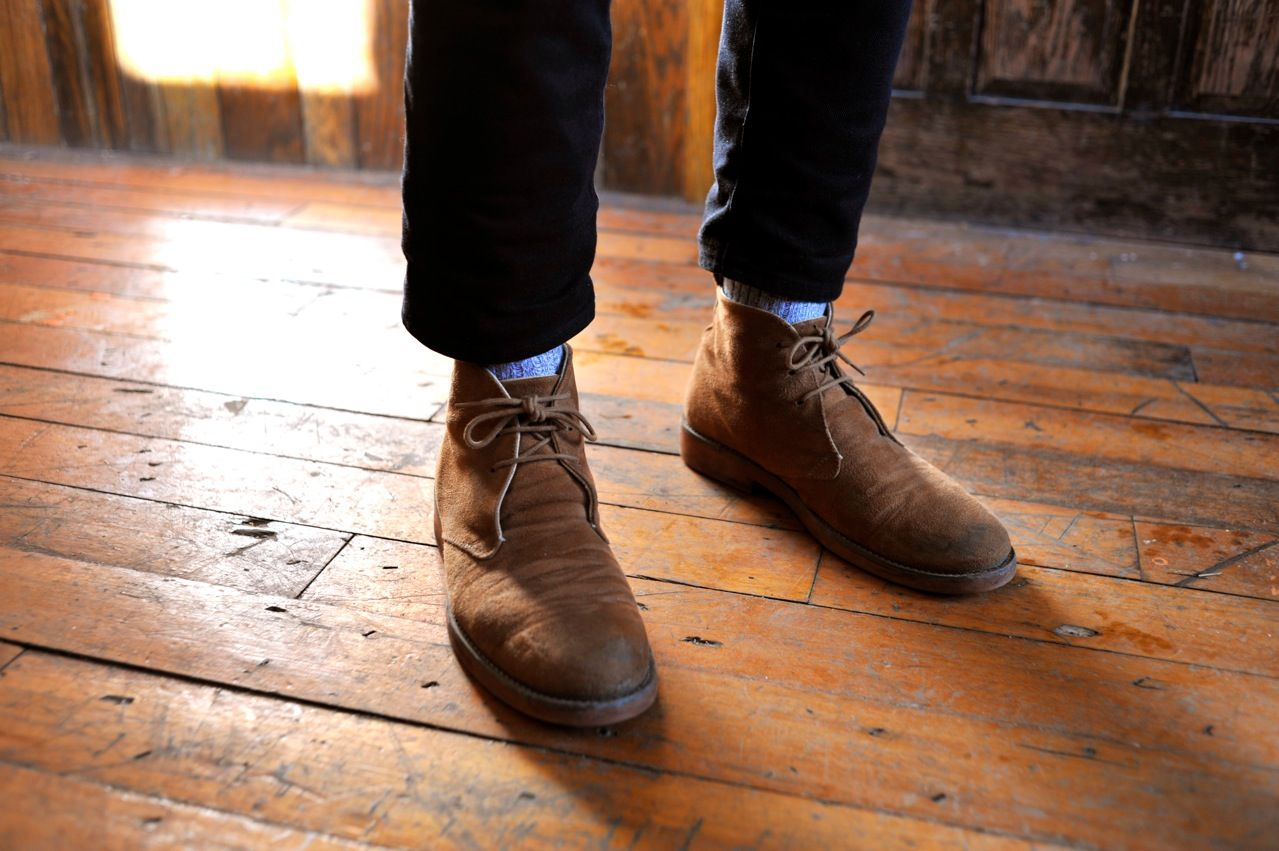 Rugged and casual vegan desert boots | Style | Pinterest | Clarks ...