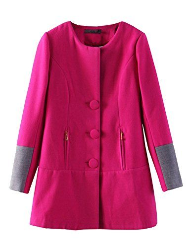 Alionz Women Winter Woolen Blend Collarless Poncho Trench Outwear Peacoat Coat S Rose Alionz http://www.amazon.com/dp/B00UA6L3Q4/ref=cm_sw_r_pi_dp_zETivb0YRBZM2