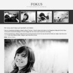 Gratis bloggdesign – Fokus