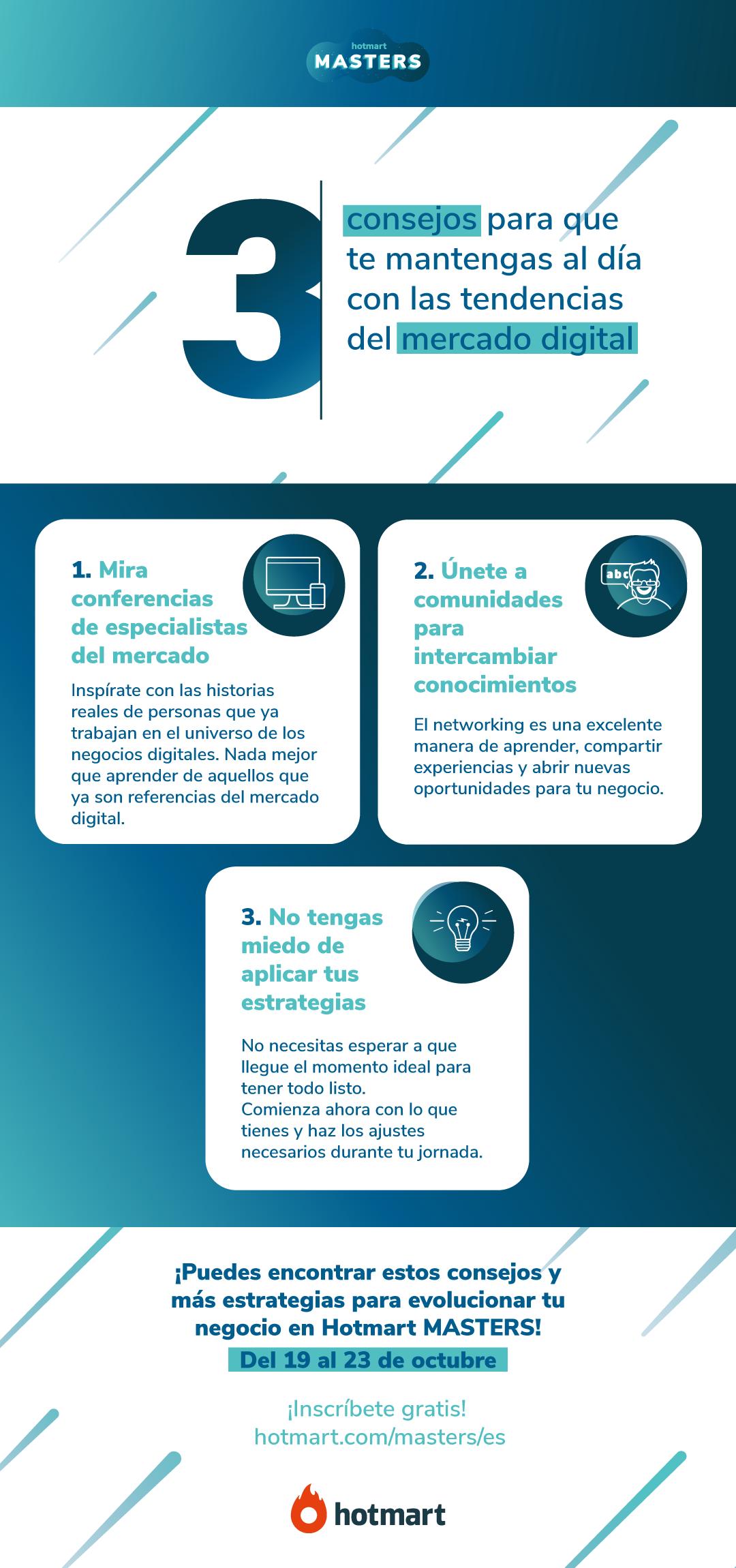 3 Consejos para mantenerte al día con las tendencias del mercado digital 👩💻✅