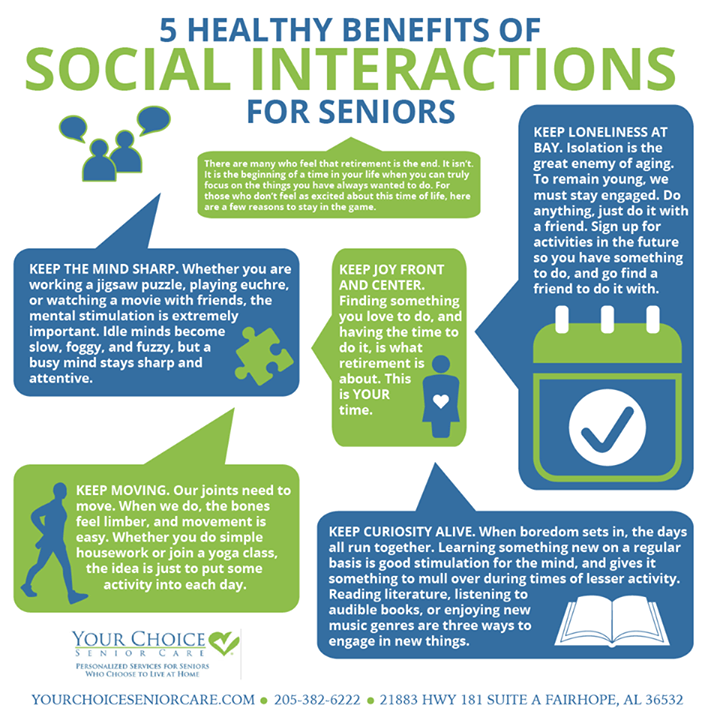 Here are 5 healthy benefits of social interaction for ...