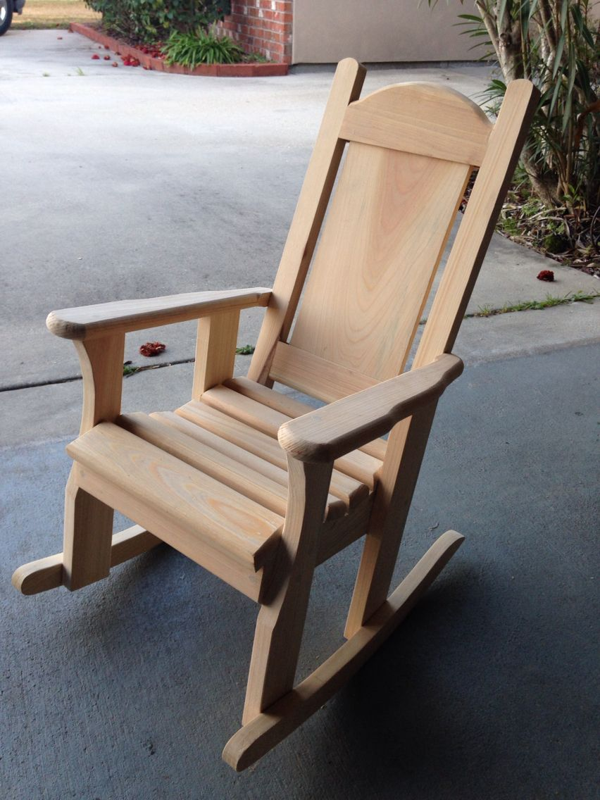 Gentil Cypress Rocking Chair