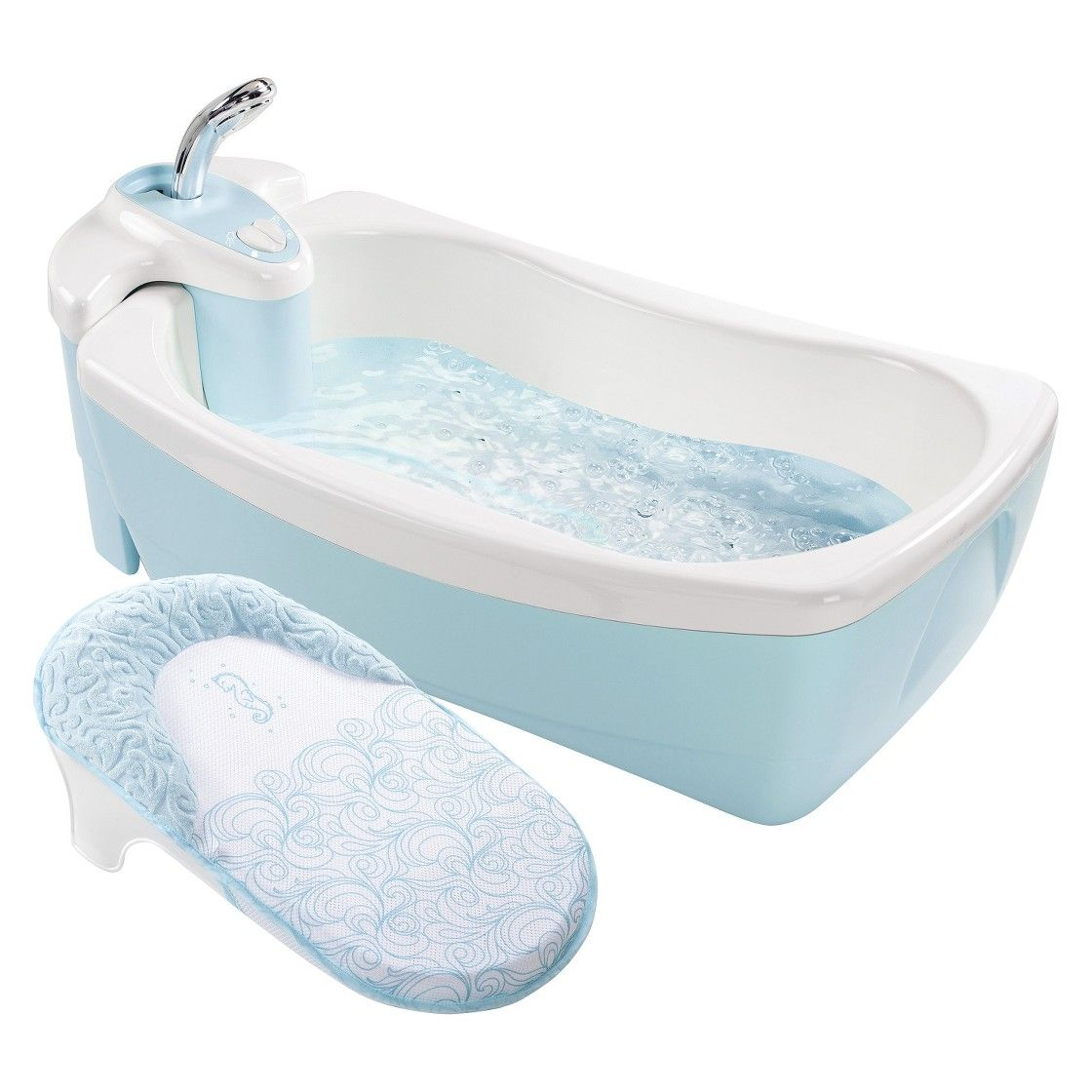 Summer Infant Lil\' Luxuries Bath Tub with Whirlpool, Bubbling Spa ...