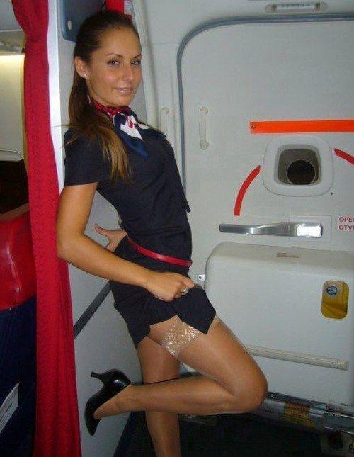 Naughty flight attendants sex pics