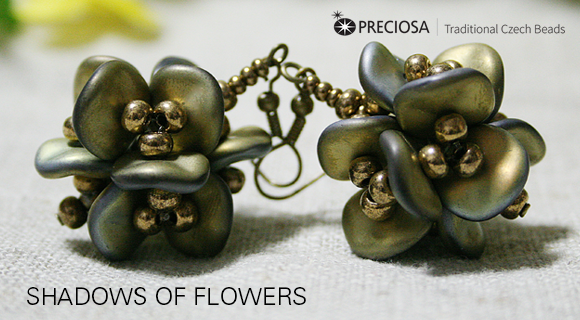 Shadows of Flowers - Free PDF (English Version) #Seed #Bead #Tutorials