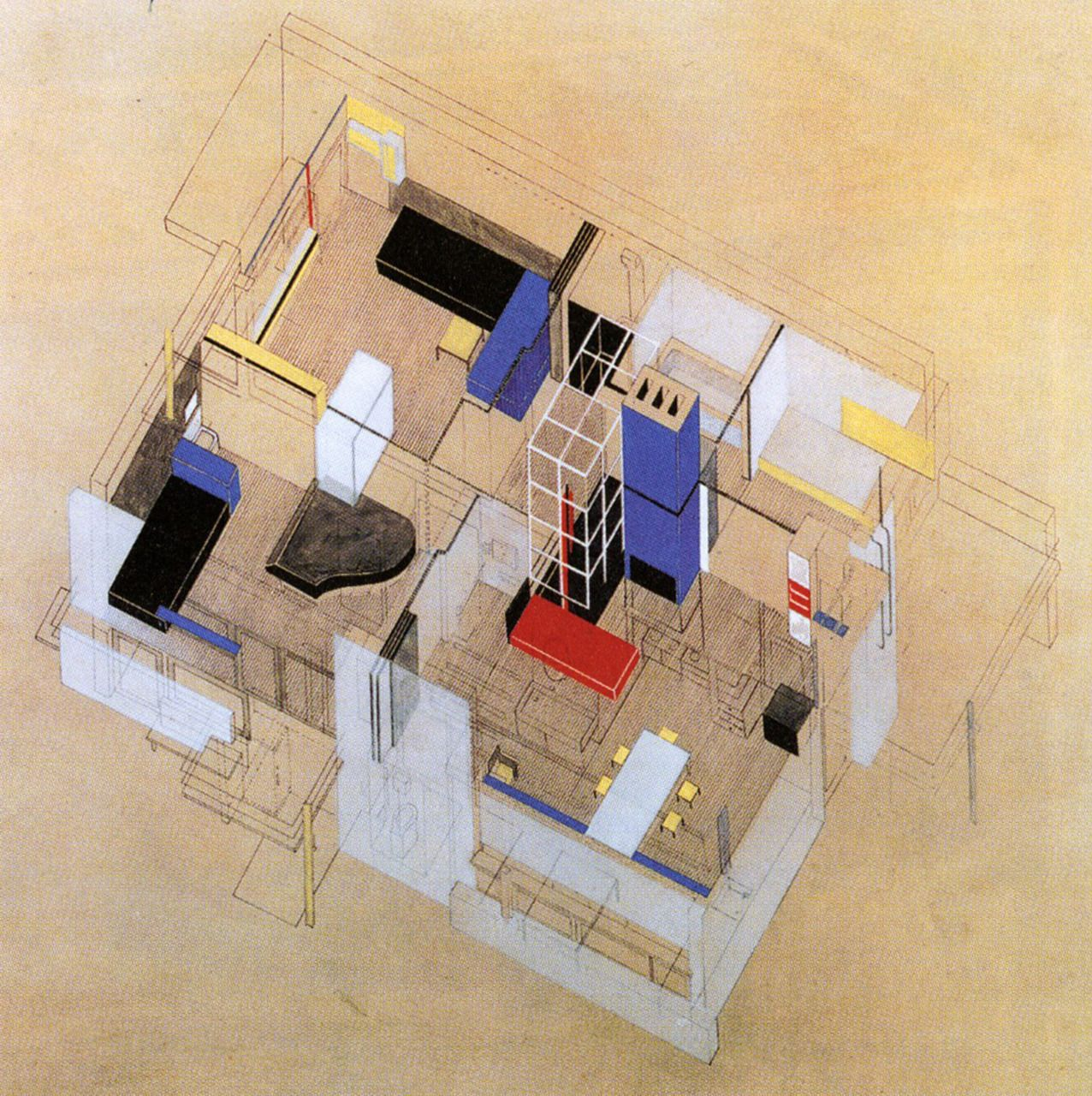 Gerrit Rietveld, Axono...