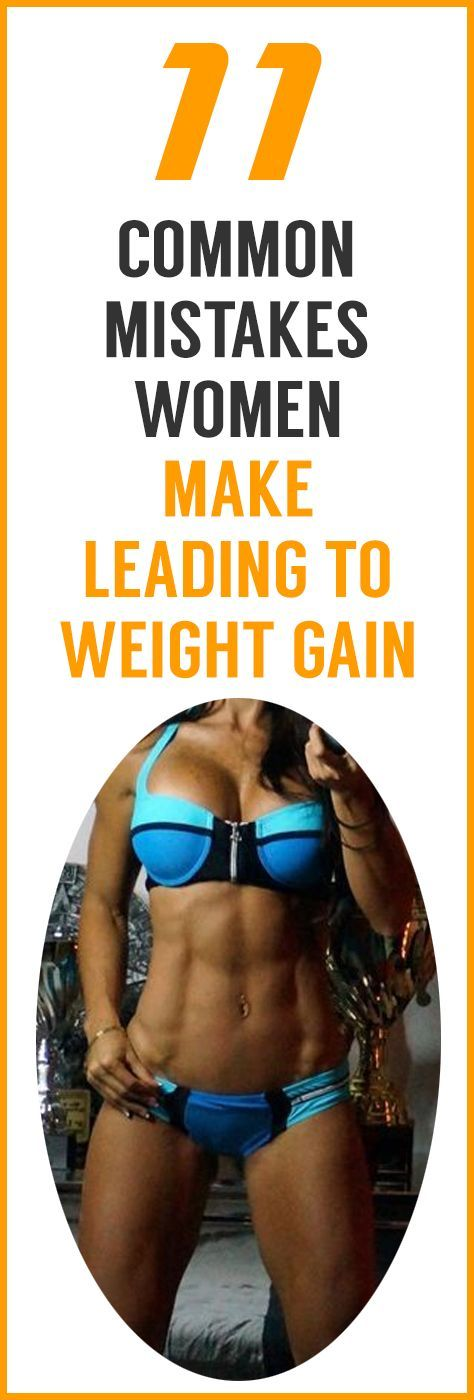 QUICK! Are You Committing One Of These 11 Deadly Sins For Women's Weight Loss? Stop Making These Mis...
