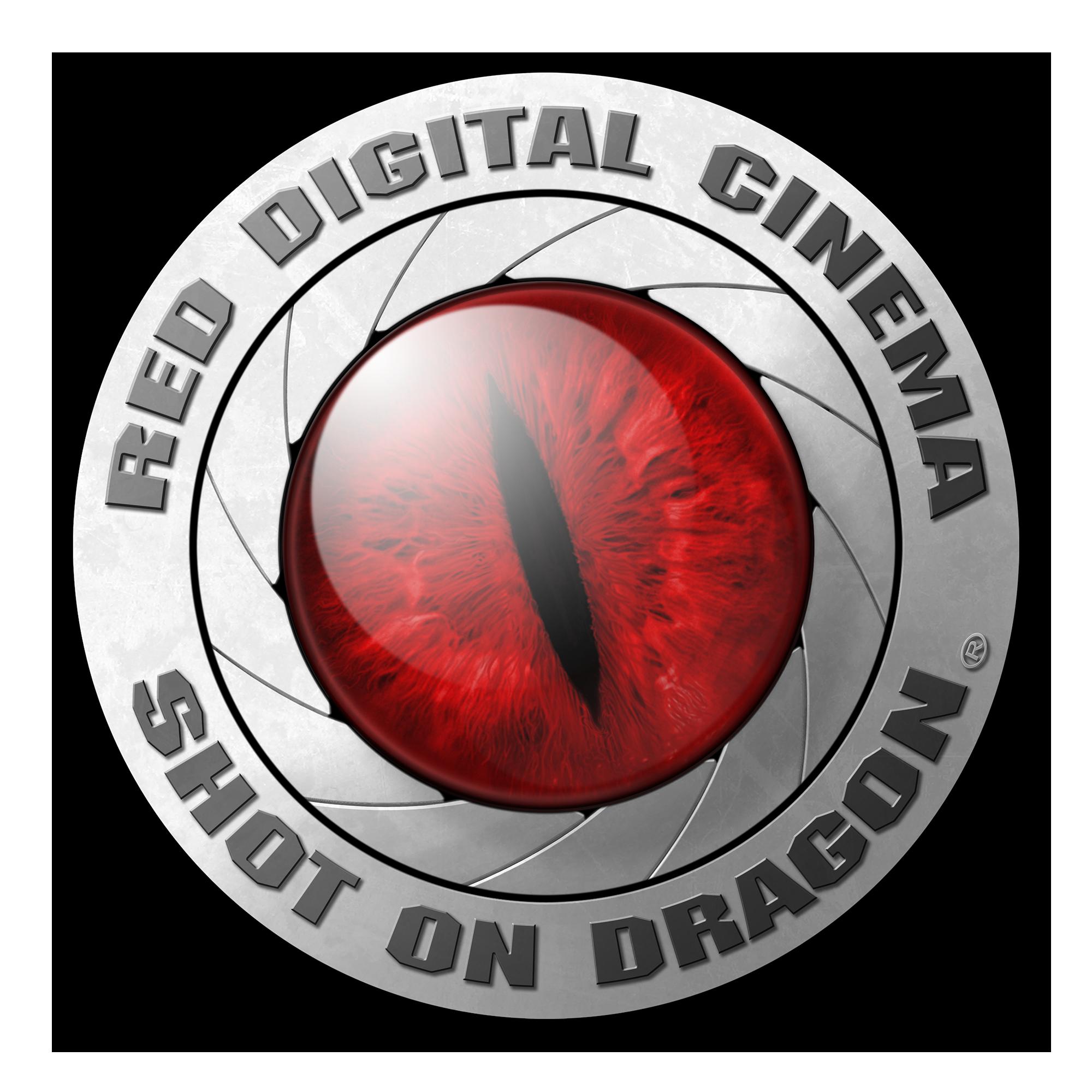 Shot On Dragon Logo Logos Red Digital Cinema Red Dragon