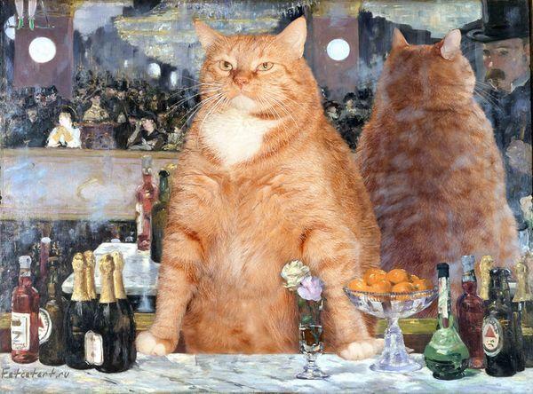 """Résultat de recherche d'images pour """"gros chat roux"""""""