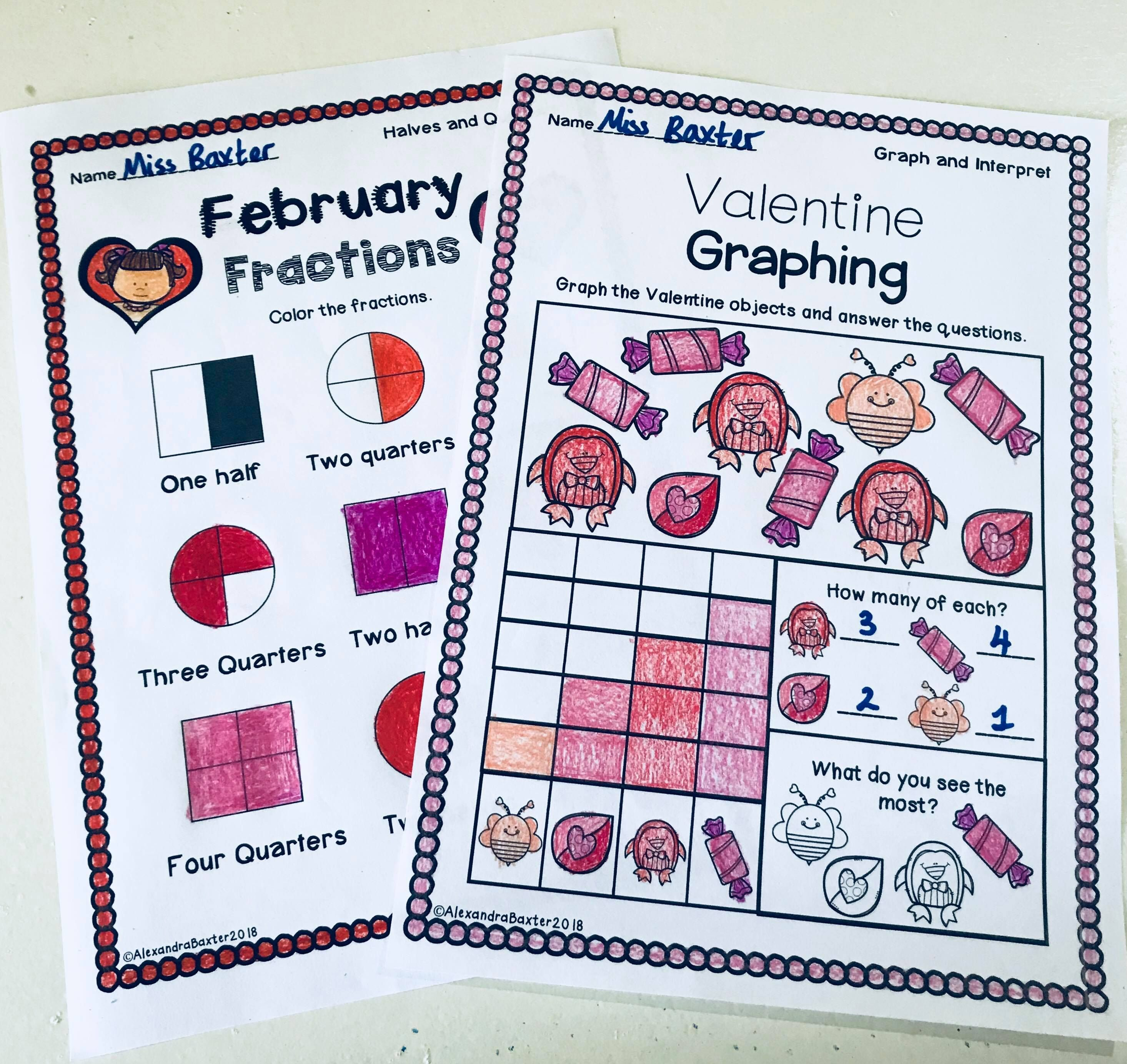 Valentine S Day Math Worksheets Math Valentines Math Worksheets Christmas Math Worksheets Valentine addition worksheets for first