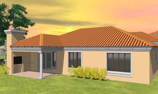 Single storey house plans in south africa google search for Tuscan roof design