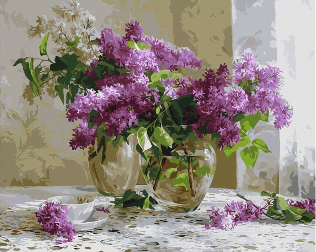 Malen Nach Zahlen 40 X 50 Cm Mit Holzrahmen Komplettset Gx9374 Eur 19 90 Paradieseinkauf Malen Nach Za Wie Man Blumen Malt Blumen Gemalde Malen Nach Zahlen