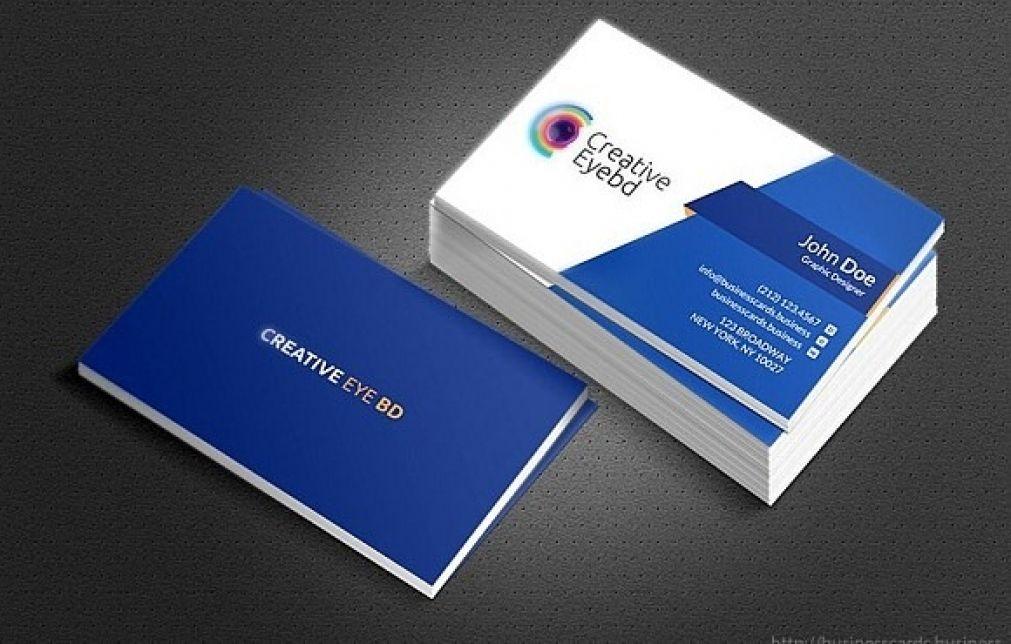 Professional Business Card Design Services Gemeinsam Mit