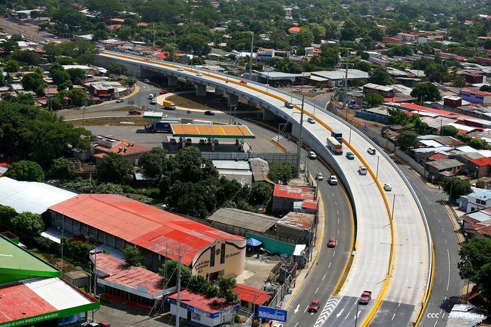 Paso A Desnivel Y Rotonda Rubenia - Managua - Wikipedia, la enciclopedia libre
