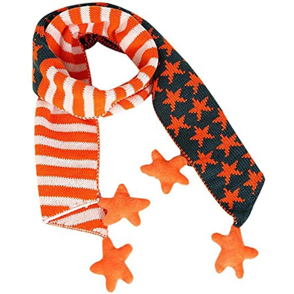 Scrox Schals für Kinder Mode Herbst und Winter Jungen und Mädchen Halskette Ba…