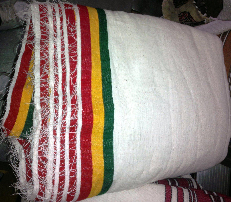 Ethiopian/Eritrean Hand Made Gabi, Blanket  100% Cotton