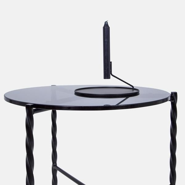 Von Iron Side Table Small Side Table Contemporary End Tables