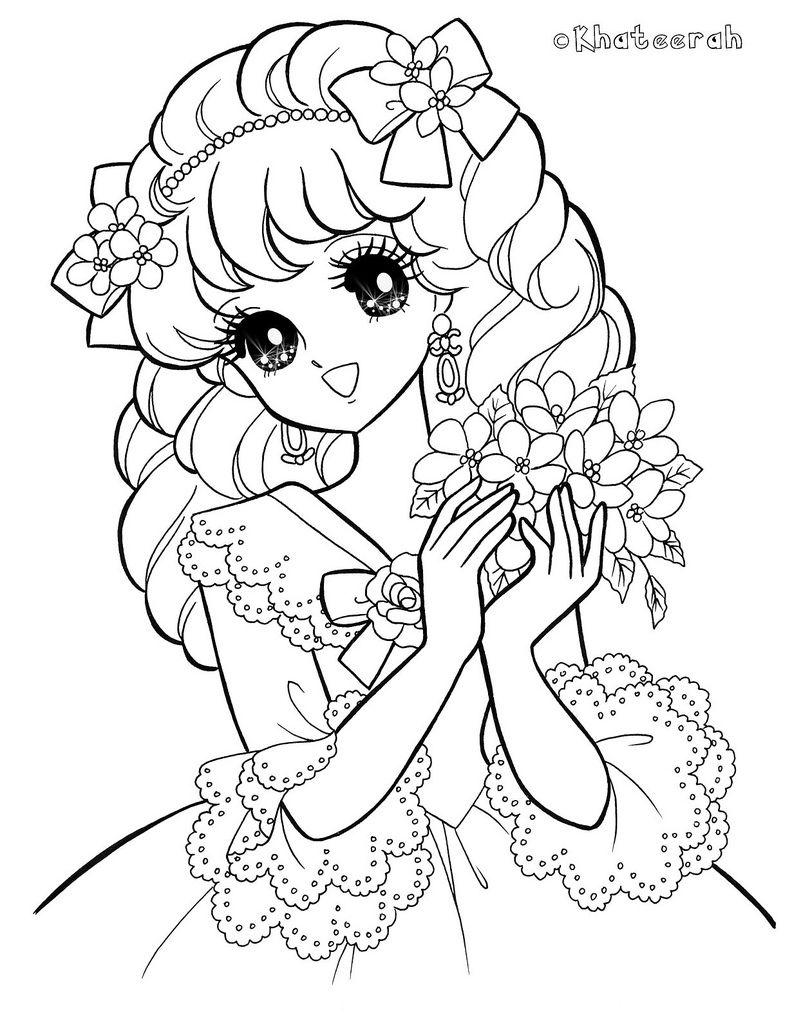 Colouring page50 shoujo coloring pinterest coloriage - Manga adulte gratuit ...