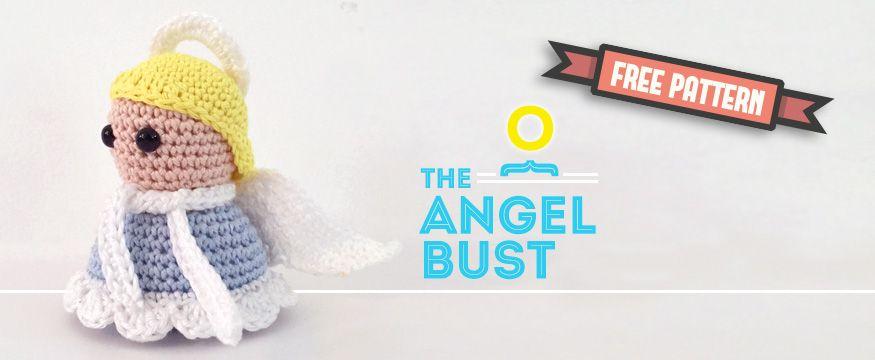 Free amigurumi pattern Christmas Bust Angel | Angels | Pinterest ...
