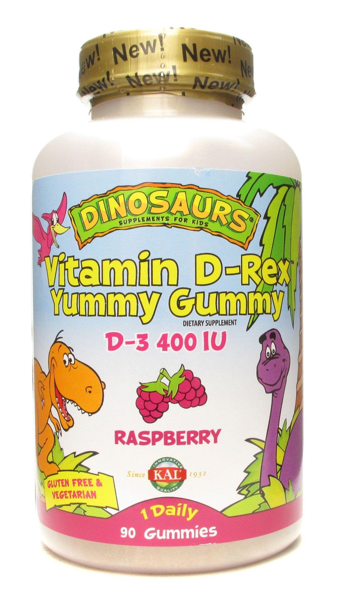 Kal vitamin drex yummy gummy raspberry 90 gummies