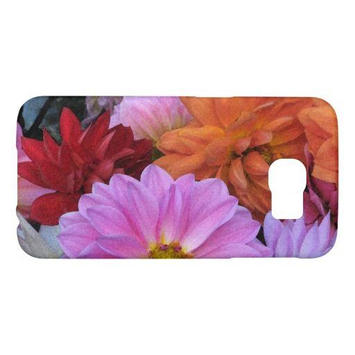 Dahlia Petals Galaxy Note 4 Case