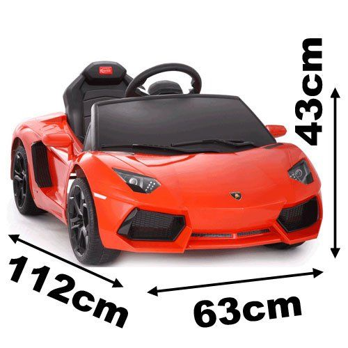 Power Wheels Cars Bentley: Lamborghini Aventador Battery Kids Ride On Car Electric