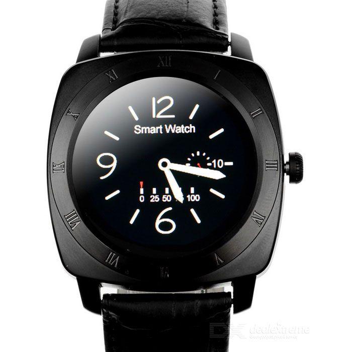 """DM88 1.22"""" Smart Watch w/ Heart Rate Monitor, Sedentary Remind - Black #men #smart #watch #fashion #style #women"""